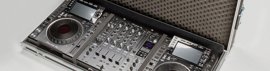 Flight case per DJ